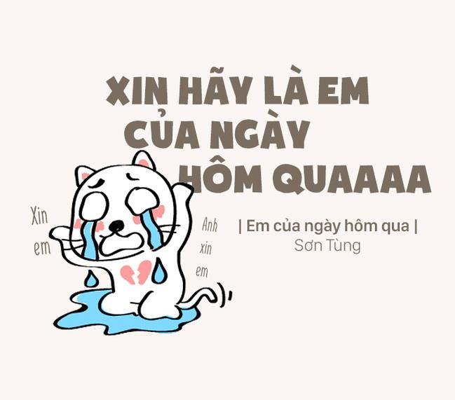 """3. Phải cảm ơn Sếp Tùng đã khiến cho """"em nào đó của ngày hôm qua"""" trở nên hot đến thế, dù chả ai biết là em nào..."""