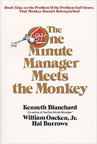 2. Vị giám đốc một phút và con khỉ, tác giả Ken Blanchard, William Oncken Jr. và Hal Burrows