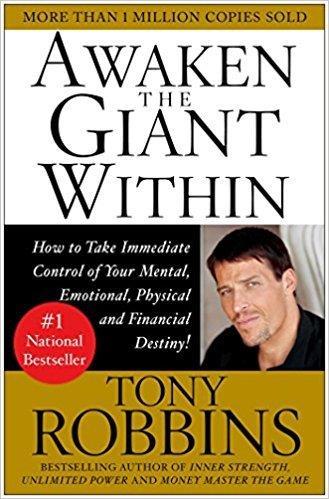 7. Đánh thức con người phi thường trong bạn, tác giả Tony Robbins