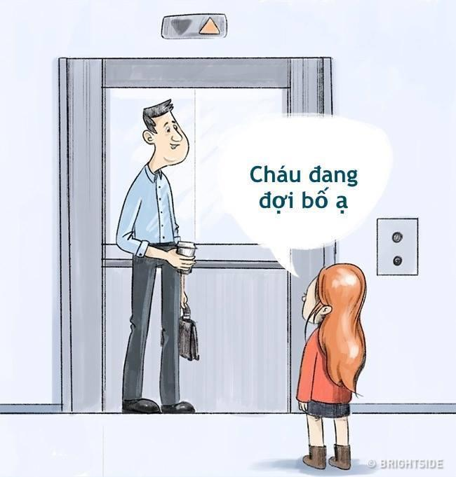 Không sử dụng thang máy một mình hoặc đi một mình cùng người lạ