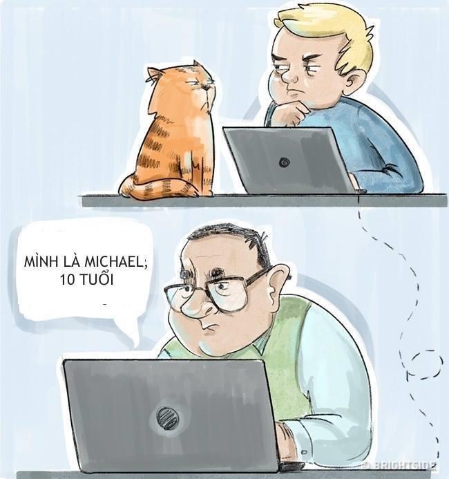 Không tiết lộ thông tin cá nhân cho người lạ trên Internet
