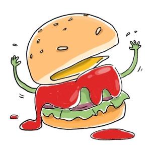 2. Burger ma quái