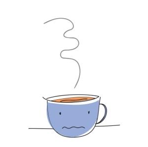 6. Ly trà nóng