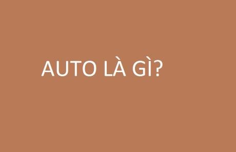 Auto là gì trên facebook?
