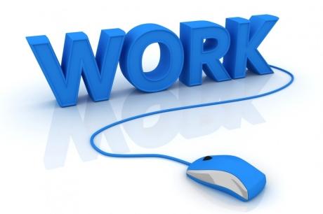 10 cụm động từ với work