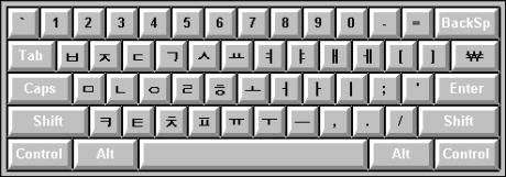 Bàn phím tiếng Hàn