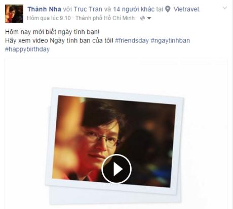 Cách tạo video ấn tượng về Ngày tình bạn trên Facebook