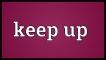 Cụm động từ với Keep - Phrasal Verbs with Keep