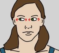 10 bài tập đơn giản giúp đôi mắt mệt mỏi của bạn gái đẹp long lanh