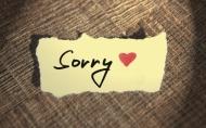 Một lời xin lỗi chân thành vì sao lại khó nói đến như vậy?