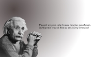 24 câu nói bất hủ của Albert Einstein