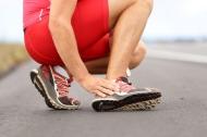 Speaking is easy: Sprained Ankle