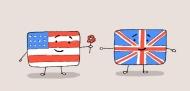 Sự khác nhau thú vị về từ vựng của tiếng Anh Anh và Anh Mỹ