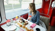 Speaking is easy: Eating on the Bus