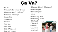 Một số câu giao tiếp tiếng Pháp thông dụng