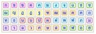 44 phụ âm tiếng Thái Lan
