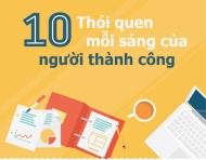 10  thói quen mỗi sáng của người thành công