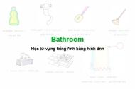 Học từ vựng tiếng Anh bằng hình ảnh: Bathroom