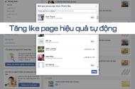 Cách tăng like page sử dụng code tự động hiệu quả