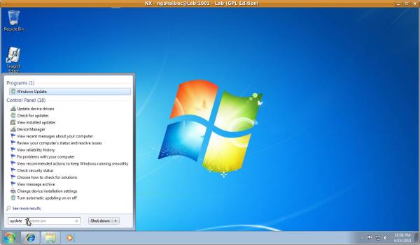 tinh nang windows update cho windows 7