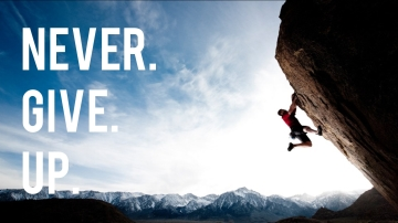 Khi thất bại đừng vội bỏ cuộc